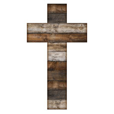 Stained Wood Cross
