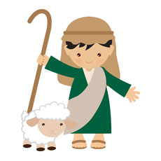 Children's Nativity Shepherd 1