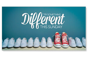 Different Shoes Social Media Ad Packages