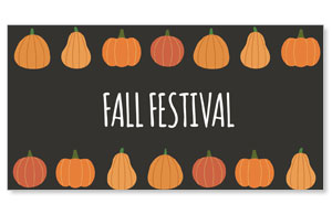 Pumpkins Hand Drawn Fall Festival Social Media Ad Packages
