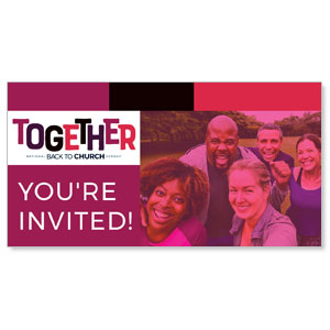 BTCS Together You're Invited Social Media Ad Packages