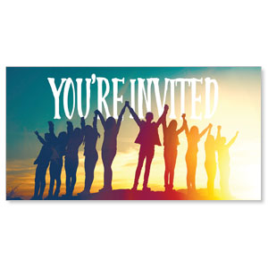 BTCS You Belong Here You're Invited Social Media Ad Packages
