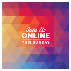Geometric Bold Online This Sunday Social Media Ad Packages