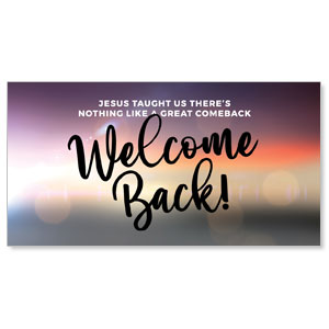 Jesus Comeback Welcome Social Media Ad Packages