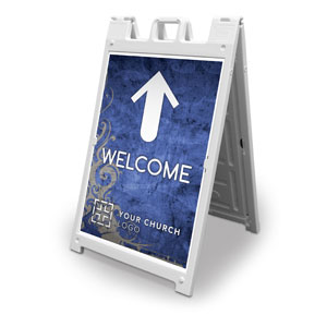 Adornment Welcome 2' x 3' Street Sign Banners
