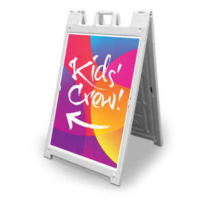 Curved Colors Kid's Crew 2' x 3' Street Sign Banners