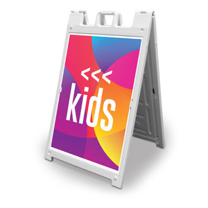 Curved Colors Kids 2' x 3' Street Sign Banners