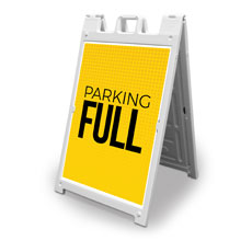 Yellow Dots Parking Full