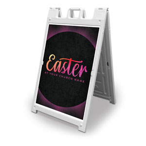 Easter Color Tomb 2' x 3' Street Sign Banners