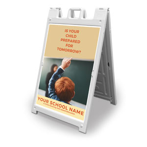 Prepared For Tomorrow Enroll 2' x 3' Street Sign Banners