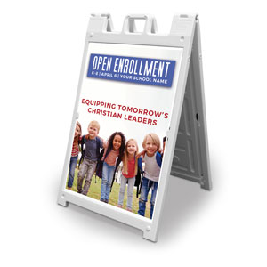 Kids Enroll Together 2' x 3' Street Sign Banners