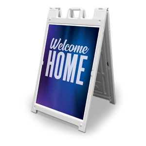 Aurora Lights Welcome Home 2' x 3' Street Sign Banners