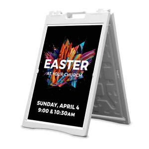 CMU Easter Invite 2021 2' x 3' Street Sign Banners