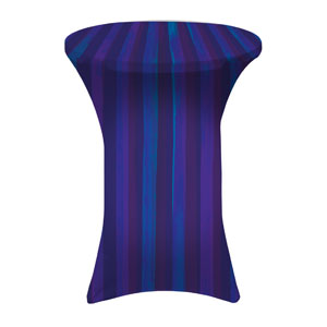 Modern Stripes Blank Stretch Table Covers