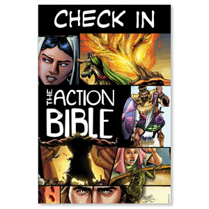 The Action Bible Check In Banners