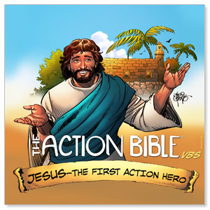 The Action Bible VBS StickUp