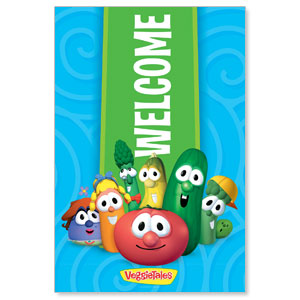 VeggieTales Welcome StickUp