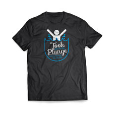 Took The Plunge Baptism T-Shirt