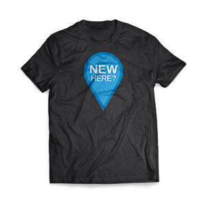 New Here T-Shirts