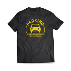 Parking Yellow T-Shirt