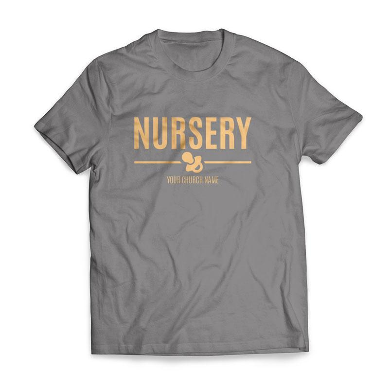 Nursery T Shirt Church Apparel Outreach Marketing