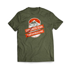 Mountains Explorer T-Shirt