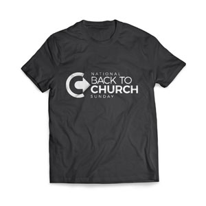 Back to Church Sunday Logo - Medium Apparel