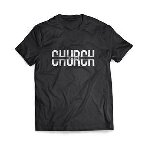 Church - Large Customized T-shirts