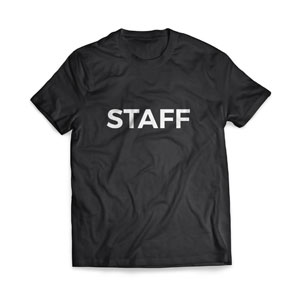 Staff - Large Apparel