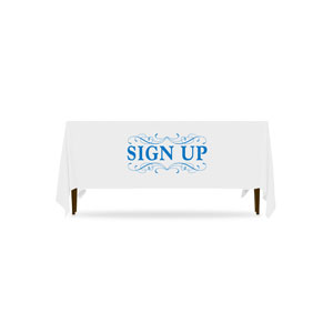 Filigree Sign Up Table Throws
