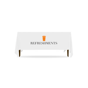 Icon Refreshments Table Throws