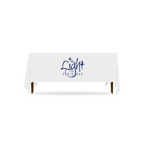 The Light of Christmas Table Throws