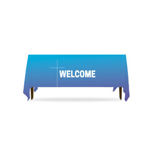 Color Wash Welcome Table Throws
