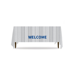 Painted Wood Welcome Table Throws