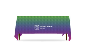Multicolor Logo Table Throws