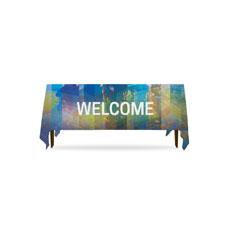 Modern Mosaic Welcome Table Throw