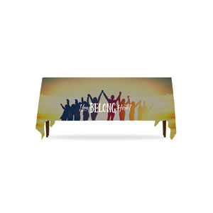 BTCS You Belong Here Table Throws