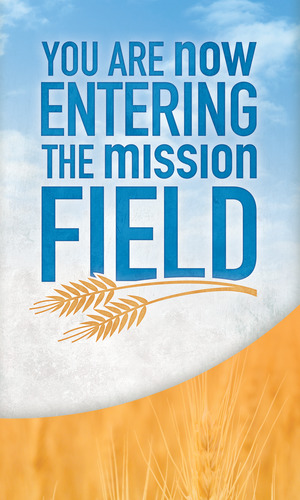 Mission Field Banner - Church Banners