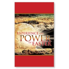 Experience Easter Power 3 x 5 Vinyl Banner
