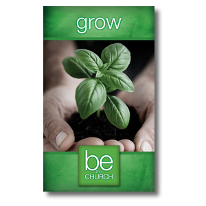 Be The Church Grow 3 x 5 Vinyl Banner