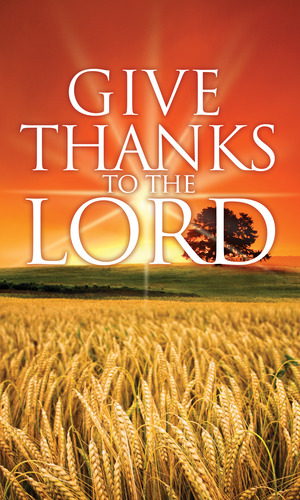 Give Thanks Lord Banner Church Banners Outreach Marketing
