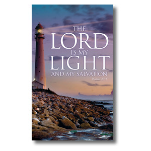 Lord Is My Light 3 x 5 Vinyl Banner