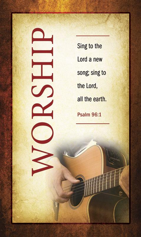 Verses Worship Banner Church Banners Outreach Marketing