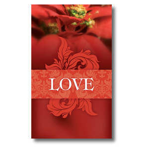 Together for the Holidays Love 3 x 5 Vinyl Banner