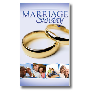 Wow! Sunday Marriage Sunday Banners