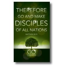 Deeper Roots Matt 28:19 Banner