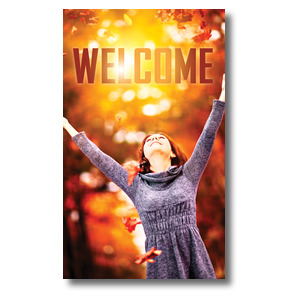 Youre Invited Fall 3 x 5 Vinyl Banner