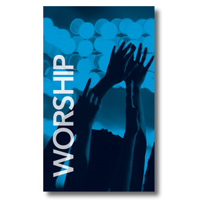 Worship Together Pair L 3 x 5 Vinyl Banner