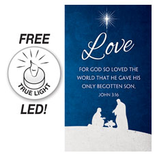 Advent Love Banner