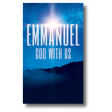 God With Us M Banner